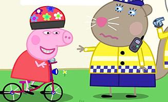 Peppa Pig S05E16 The Police