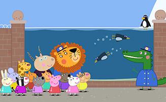 Peppa Pig S05E17 The Zoo