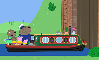 Peppa Pig S05E18 Canal Boat