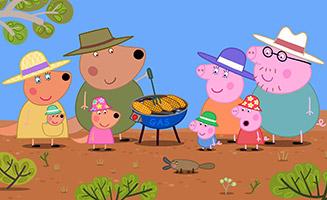 Peppa Pig S05E19 The Outback
