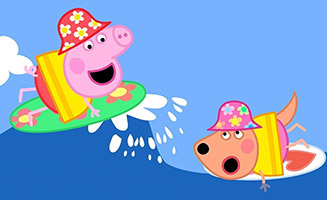 Peppa Pig S05E20 Surfing