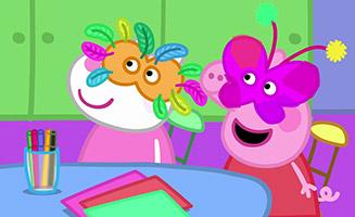 Peppa Pig S05E24 Masks