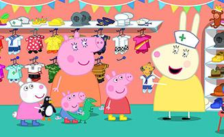Peppa Pig S05E26 The Doll Hospital