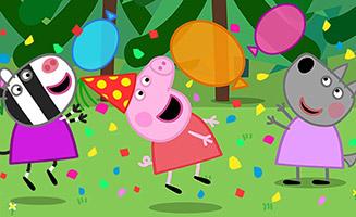 Peppa Pig S05E27 Wendy Wolfs Birthday