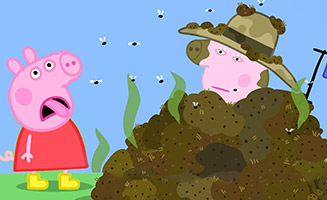 Peppa Pig S05E28 Georges Woolly Hat