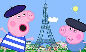 Peppa Pig S05E33 Peppa Goes to Paris