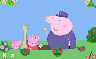 Peppa Pig S05E34 Grandpa Pigs Pond