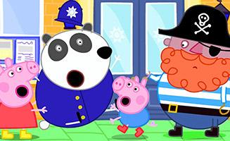 Peppa Pig S05E36 Police Station