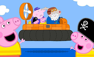 Peppa Pig S05E41 Grampy Rabbits Hovercraft