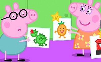 Peppa Pig S05E42 Playgroup Star