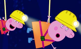 Peppa Pig S05E45 Caves