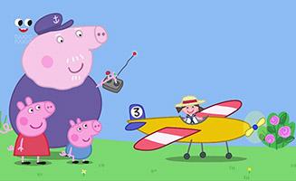 Peppa Pig S05E46 Grandpas Toy Plane