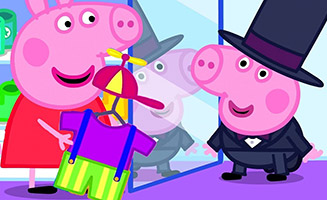 Peppa Pig S05E47 Georges New Clothes