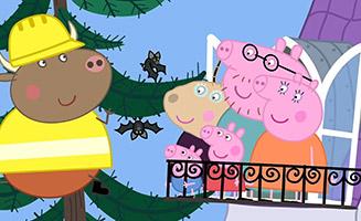 Peppa Pig S05E48 Madame Gazelles House