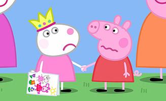 Peppa Pig S05E50 Suzy Goes Away