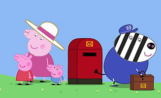 Peppa Pig S05E52 Stamps
