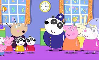 Peppa Pig S06E01 The Panda Twins