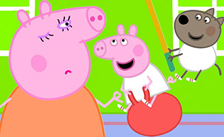 Peppa Pig S06E05 Miss Rabbits Relaxation Class