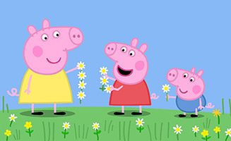 Peppa Pig S06E10 Buttercups Daisies and Dandelions