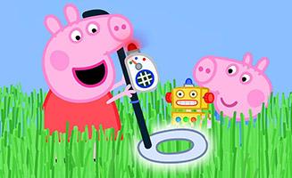 Peppa Pig S06E12 Grandpa Pigs Metal Detector
