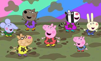 Peppa Pig S06E15 Muddy Festival