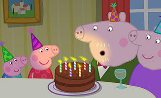 Peppa Pig S06E17 Grandpa Pigs Birthday
