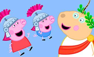 Peppa Pig S06E21 Roman Day