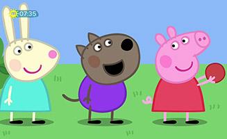 Peppa Pig S06E24 Bat and Ball