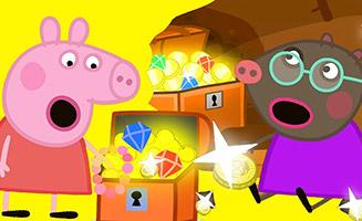 Peppa Pig S06E25 Buried Treasure