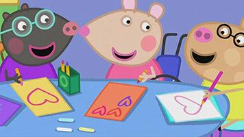 Peppa Pig S06E27 Valentines Day