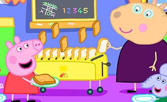 Peppa Pig S06E29 Breakfast Club