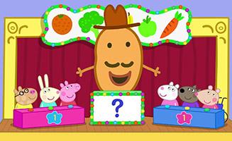 Peppa Pig S06E31 Mr Potatos Fruit And Vegetable Quiz