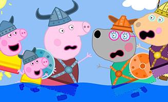 Peppa Pig S06E32 Viking Day