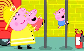 Peppa Pig S06E42 Fire Station Practice