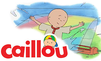 Caillou S01E17 Caillou Goes Round the Block