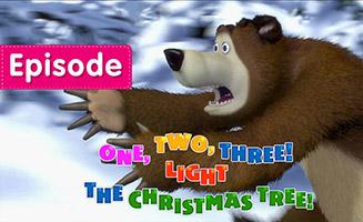 Masha and the Bear S01E03 One Two Three Light the Chistmas Tree