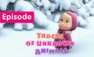 Masha and the Bear S01E04 Tracks of unknown Animals