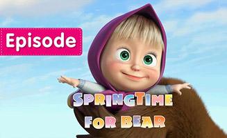 Masha and the Bear S01E07 Springtime for Bear