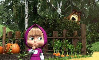 Masha and the Bear S01E13 Hide and seek is not for the Weak