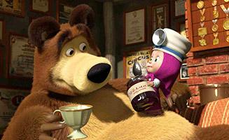 Masha and the Bear S01E16 Get well soon