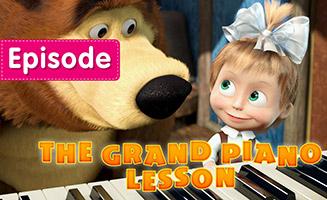 Masha and the Bear S01E19 The Grand Piano Lesson