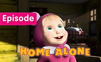 Masha and the Bear S01E21 Home Alone
