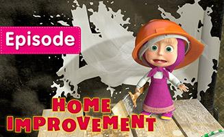 Masha and the Bear S01E26 Home Improvement