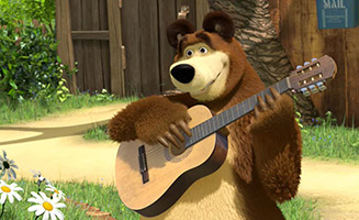 Masha and the Bear S02E03 One Hit Wonder