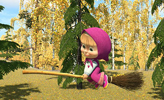 Masha and the Bear S02E05 Swept Away