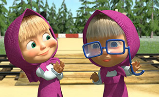 Masha and the Bear S02E10 Two Much