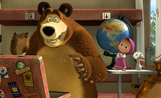 Masha and the Bear S02E11 Bon Voyage