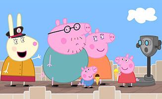 Peppa Pig S07E01 America