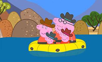 Peppa Pig S07E03 Canyon Country
