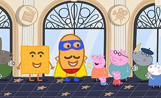 Peppa Pig S07E04 Hollywood